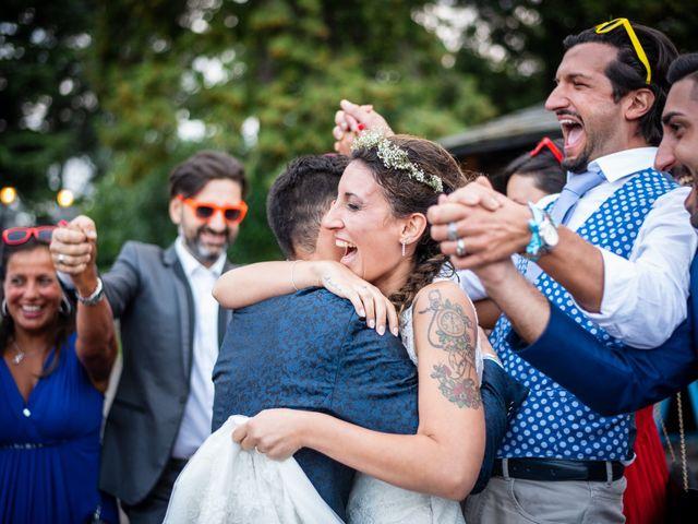 Il matrimonio di Ilario e Deborah a La Valletta Brianza, Lecco 130