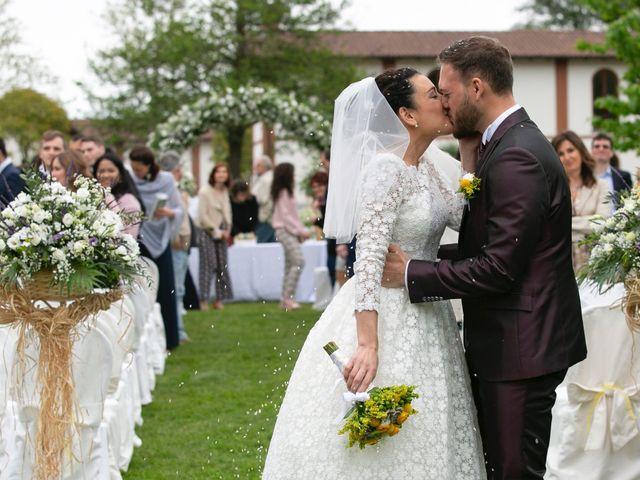 Il matrimonio di Federico e Anna a Gropello Cairoli, Pavia 20