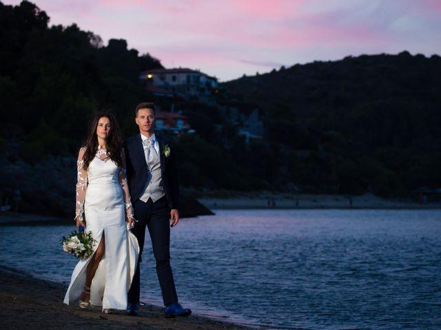 Il matrimonio di Valerio e Giulia a Monte Argentario, Grosseto 30