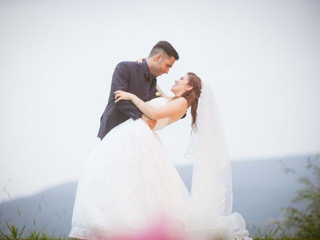 Le nozze di Anca e Stefano