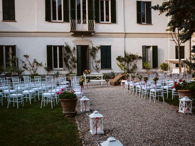 Il matrimonio di Walter e Deborah a Rovellasca, Como 44
