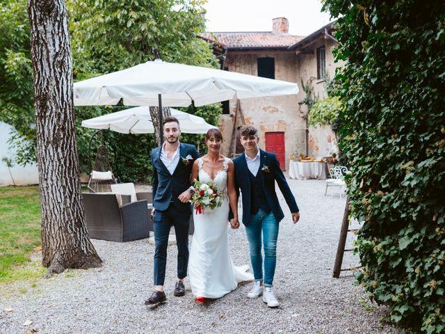 Il matrimonio di Walter e Deborah a Rovellasca, Como 67