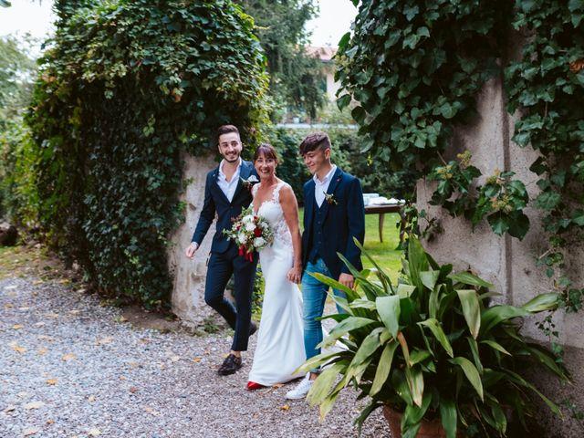 Il matrimonio di Walter e Deborah a Rovellasca, Como 68