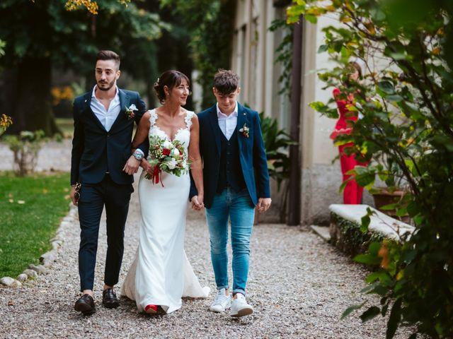 Il matrimonio di Walter e Deborah a Rovellasca, Como 70
