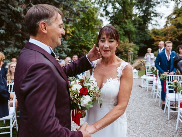 Il matrimonio di Walter e Deborah a Rovellasca, Como 73