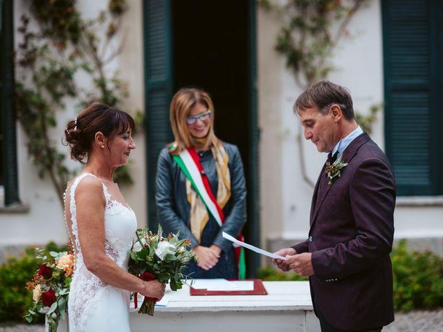 Il matrimonio di Walter e Deborah a Rovellasca, Como 84