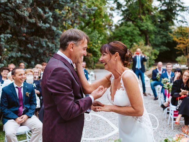 Il matrimonio di Walter e Deborah a Rovellasca, Como 93