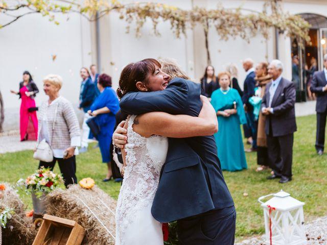 Il matrimonio di Walter e Deborah a Rovellasca, Como 124