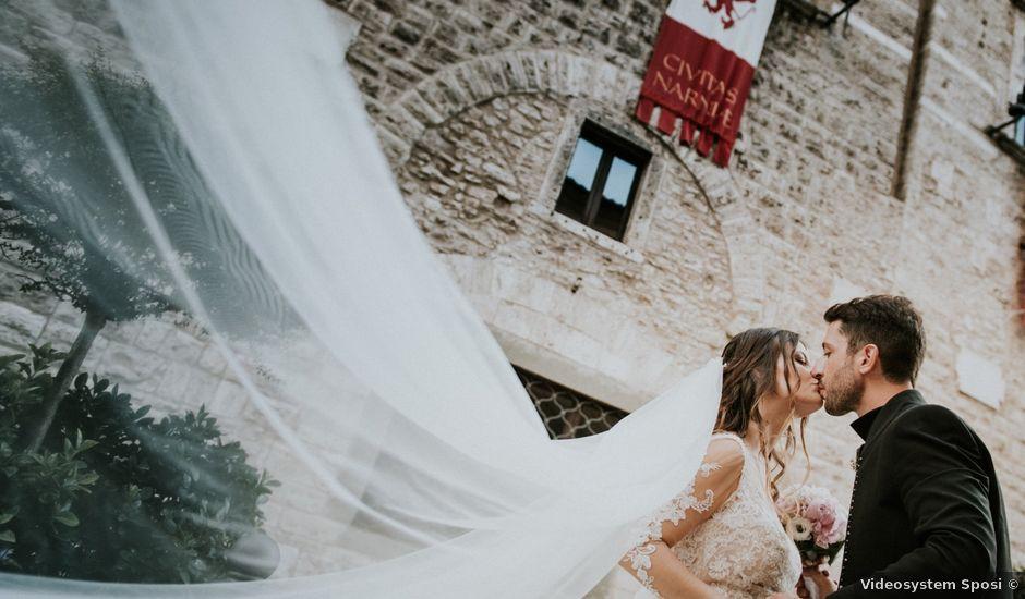 Il matrimonio di Gianluca e Ilaria a Narni, Terni