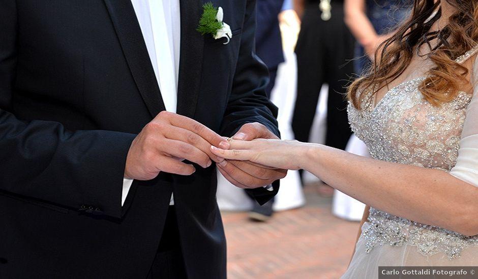 Il matrimonio di Claudio e Fabiola a Itri, Latina