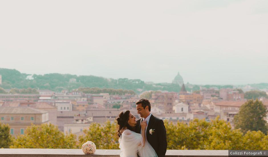 Il matrimonio di Francesco e Crisctina a Roma, Roma