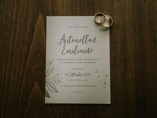 Le nozze di Emiliano e Antonella 1