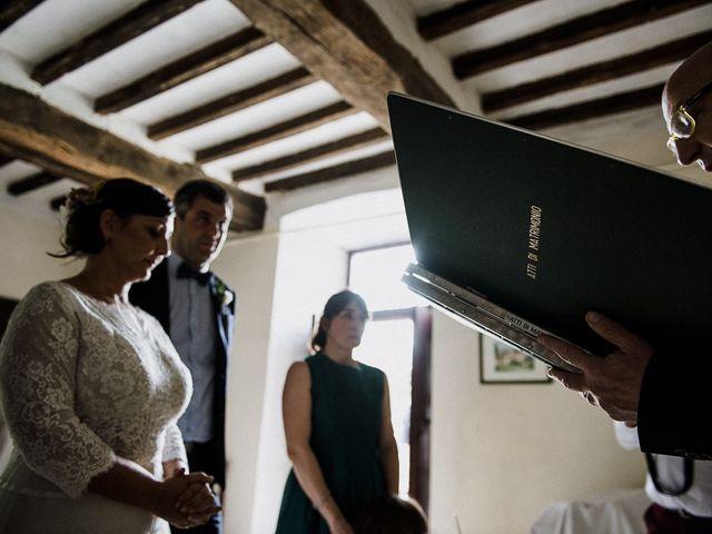 Il matrimonio di Edoardo e Giulia a Nibbiano, Piacenza 18