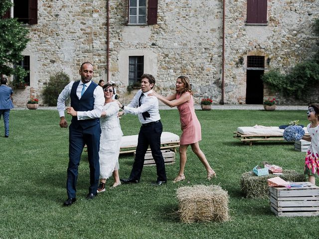 Il matrimonio di Edoardo e Giulia a Nibbiano, Piacenza 26