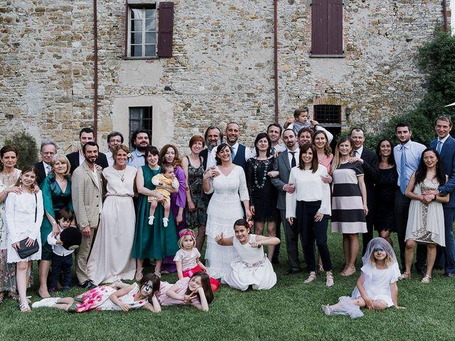 Il matrimonio di Edoardo e Giulia a Nibbiano, Piacenza 28