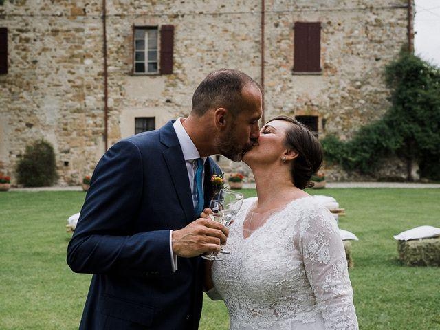 Il matrimonio di Edoardo e Giulia a Nibbiano, Piacenza 45