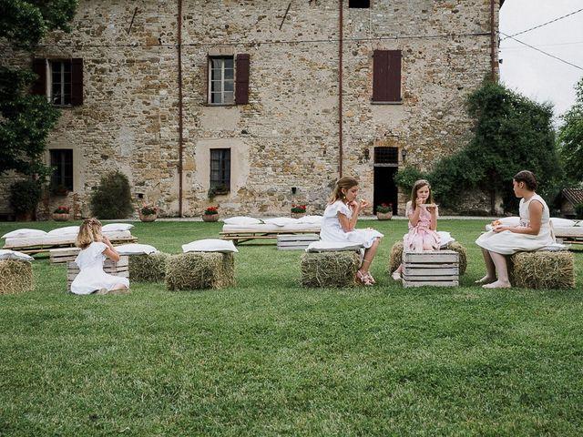 Il matrimonio di Edoardo e Giulia a Nibbiano, Piacenza 46