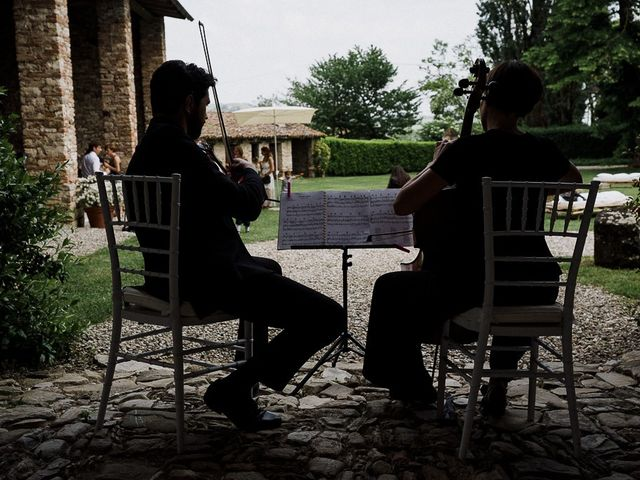 Il matrimonio di Edoardo e Giulia a Nibbiano, Piacenza 47