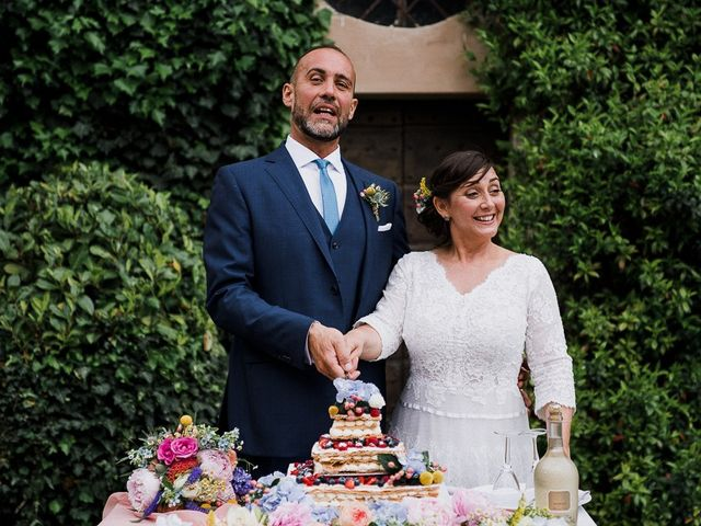Il matrimonio di Edoardo e Giulia a Nibbiano, Piacenza 50