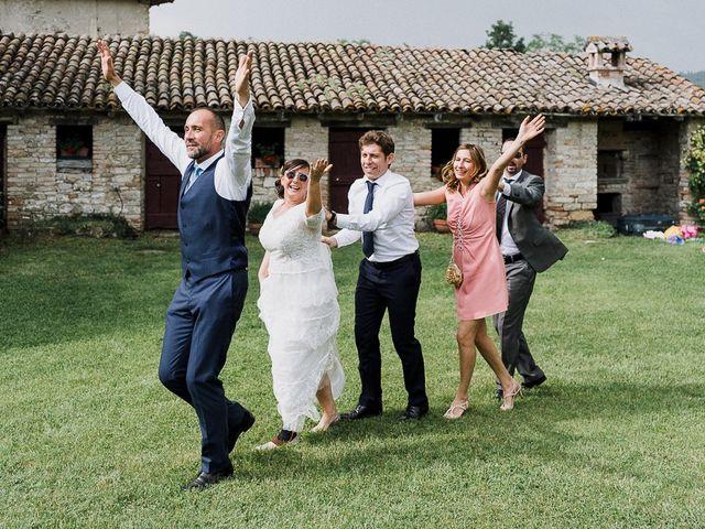 Il matrimonio di Edoardo e Giulia a Nibbiano, Piacenza 53