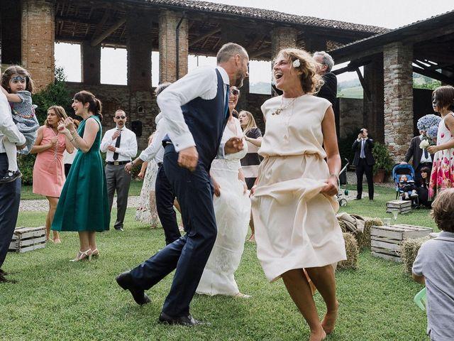 Il matrimonio di Edoardo e Giulia a Nibbiano, Piacenza 54