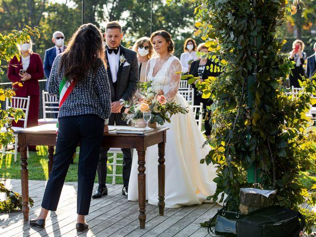Il matrimonio di Luca e Elisa a Merate, Lecco 24