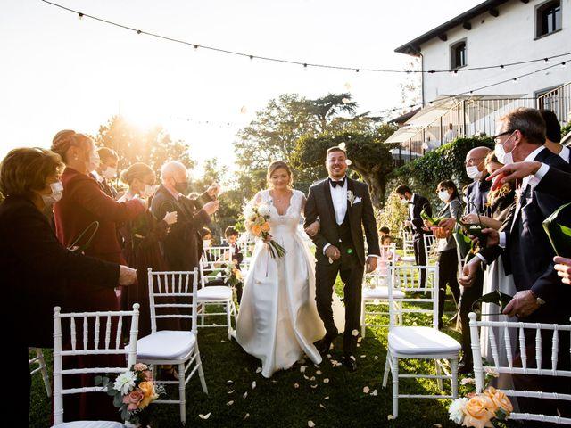 Il matrimonio di Luca e Elisa a Merate, Lecco 38