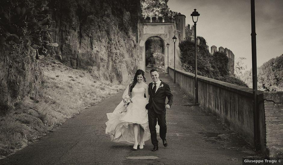 Il matrimonio di Gianluca e Ilaria a Ceri, Roma