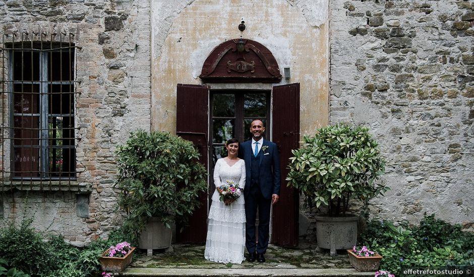 Il matrimonio di Edoardo e Giulia a Nibbiano, Piacenza