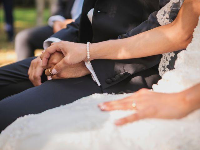 Il matrimonio di Massimiliano e Rosanna a Torgiano, Perugia 20