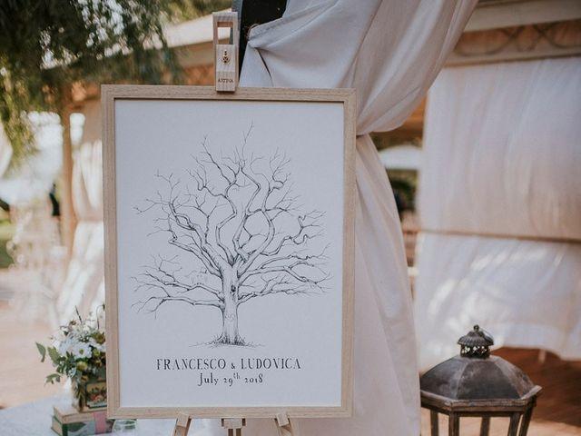 Il matrimonio di Francesco e Ludovica a Bracciano, Roma 42