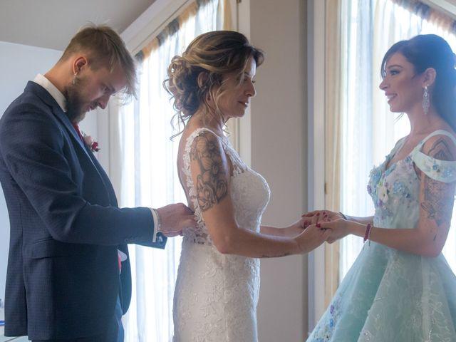Le nozze di Anna e Melo
