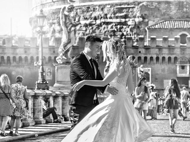 Il matrimonio di Marta e Alessio a Roma, Roma 10