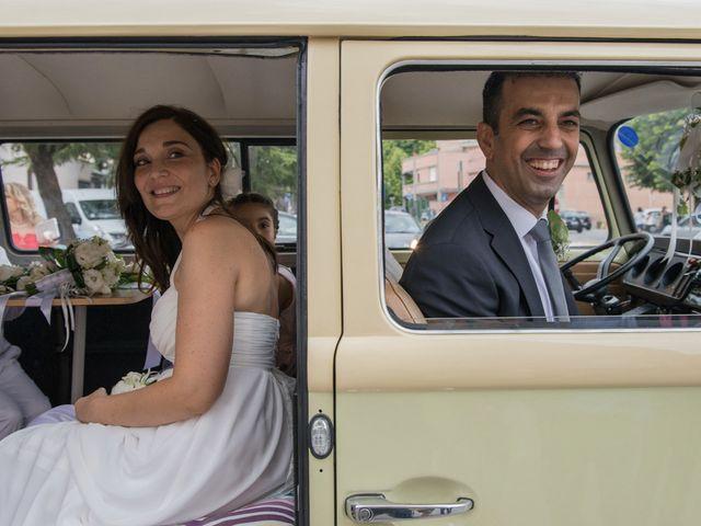 Le nozze di Ester e Cristian