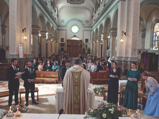 Il matrimonio di Valerio e Lucia a Spresiano, Treviso 17
