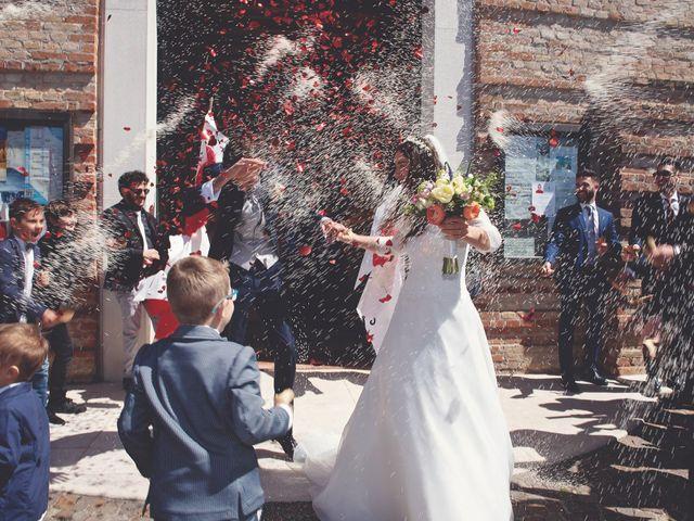 Il matrimonio di Valerio e Lucia a Spresiano, Treviso 27
