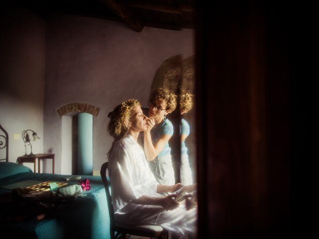 Il matrimonio di Mattia e Raffaella a San Quirico d'Orcia, Siena 10