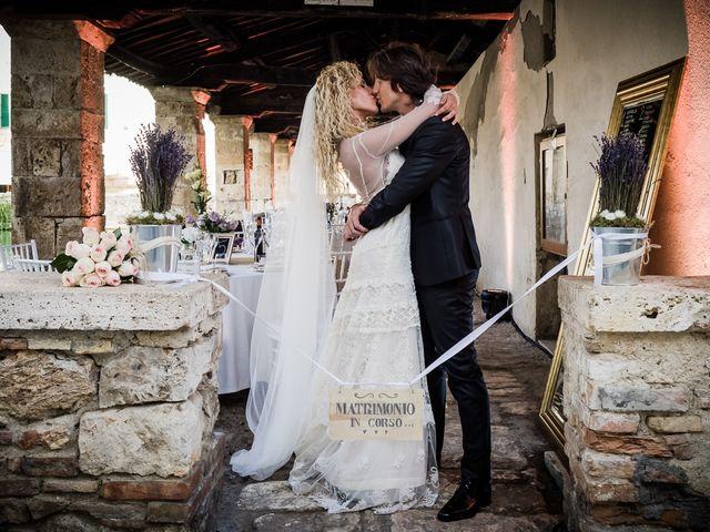 Il matrimonio di Mattia e Raffaella a San Quirico d'Orcia, Siena 1
