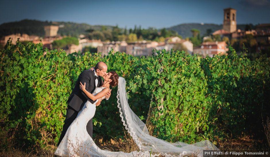 Il matrimonio di Massimiliano e Rosanna a Torgiano, Perugia
