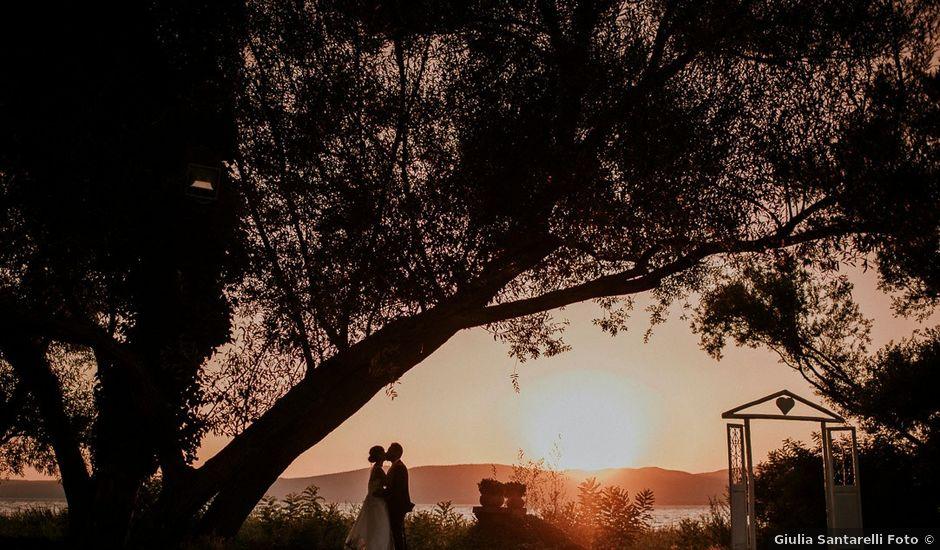 Il matrimonio di Francesco e Ludovica a Bracciano, Roma