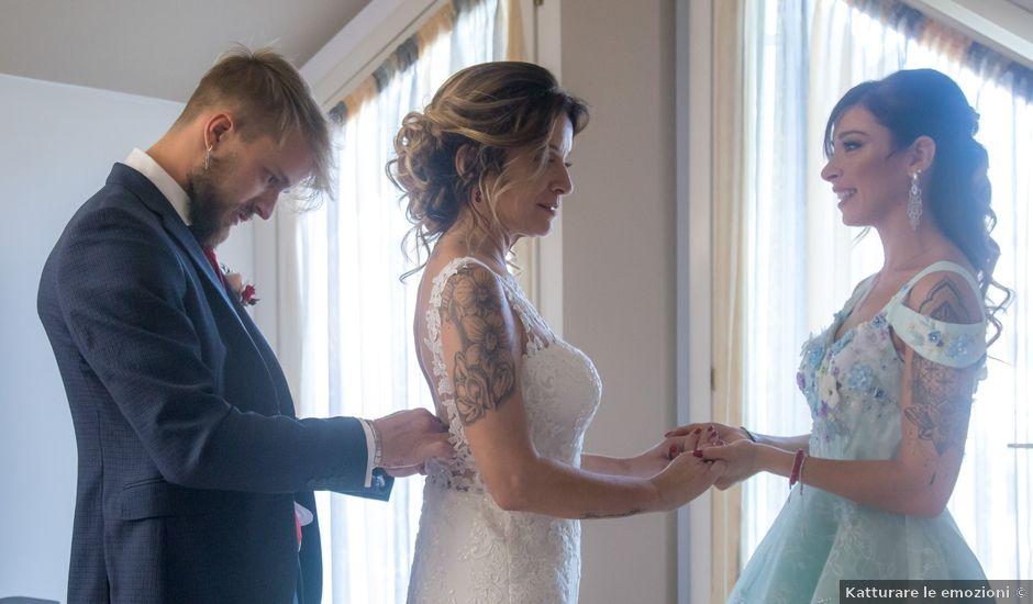 Il matrimonio di Melo e Anna a Eupilio, Como