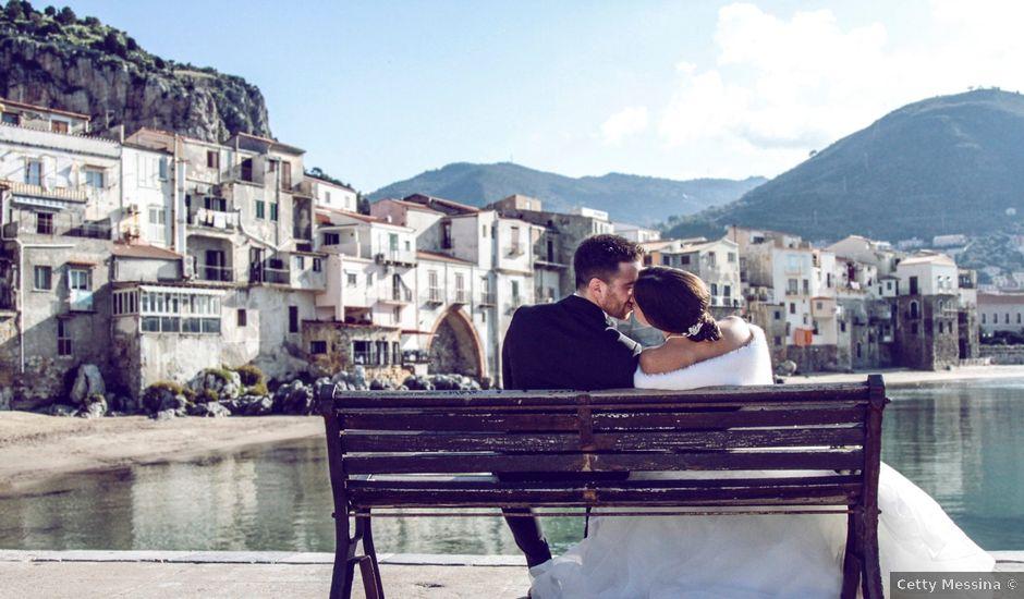 Il matrimonio di Vincenzo e Anna a Cefalù, Palermo