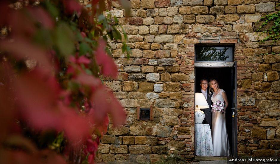 Il matrimonio di Erika e Danilo a San Gimignano, Siena