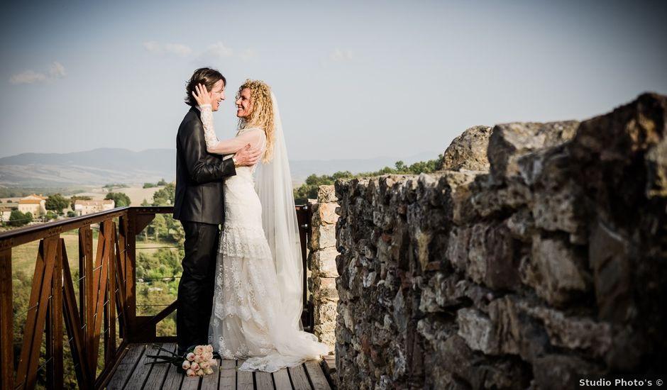 Il matrimonio di Mattia e Raffaella a San Quirico d'Orcia, Siena