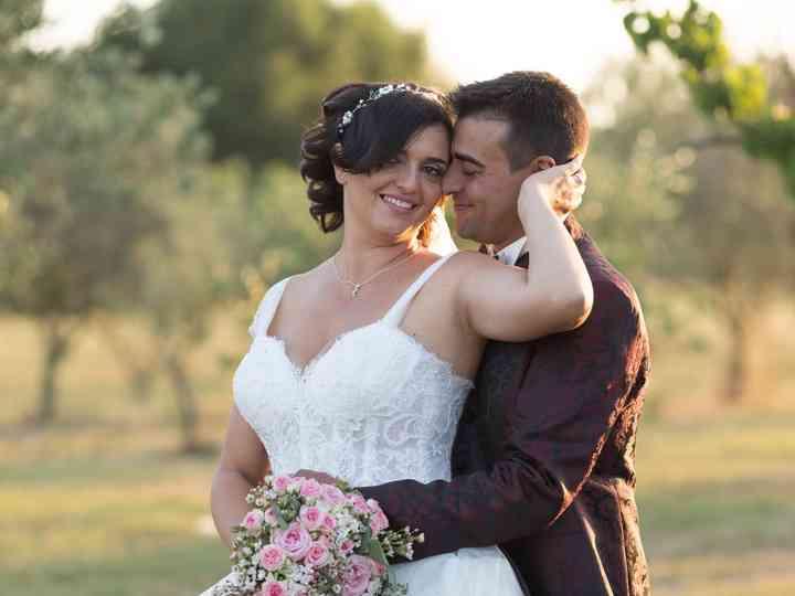 le nozze di Stefano e Lucia