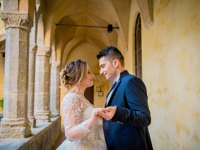 Il matrimonio di Angela e Claudio a Pompei, Napoli 11