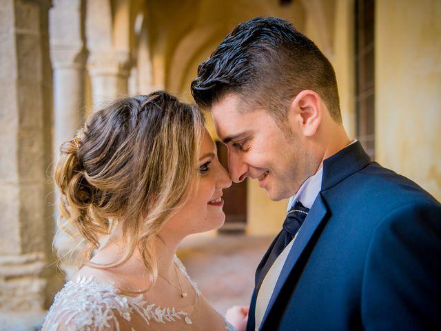 Il matrimonio di Angela e Claudio a Pompei, Napoli 1