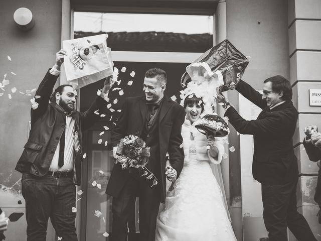 Il matrimonio di Michele e Eva a Calvenzano, Bergamo 39