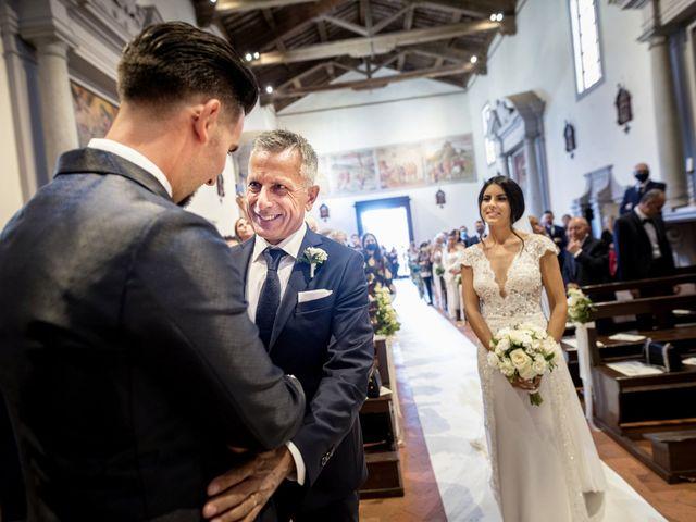 Il matrimonio di Alessio e Beatrice a Montespertoli, Firenze 28