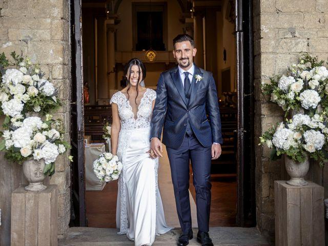 Il matrimonio di Alessio e Beatrice a Montespertoli, Firenze 34